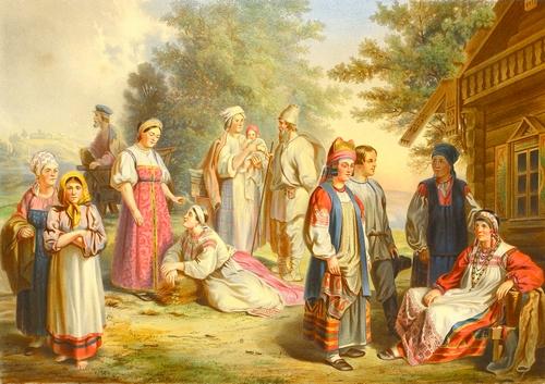 Культура народов России в 17 веке