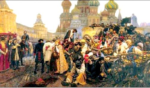 Народные движения в 17 веке
