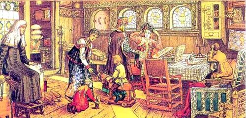Сословный быт и картина мира русского человека в 17 веке