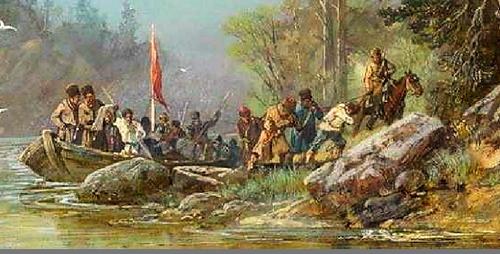 Русские путешественники и первопроходцы 17 века