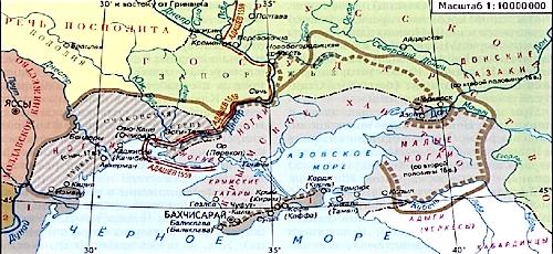 Внешнеполитические связи России с Европой и Азией в конце XVI — начале XVII в.